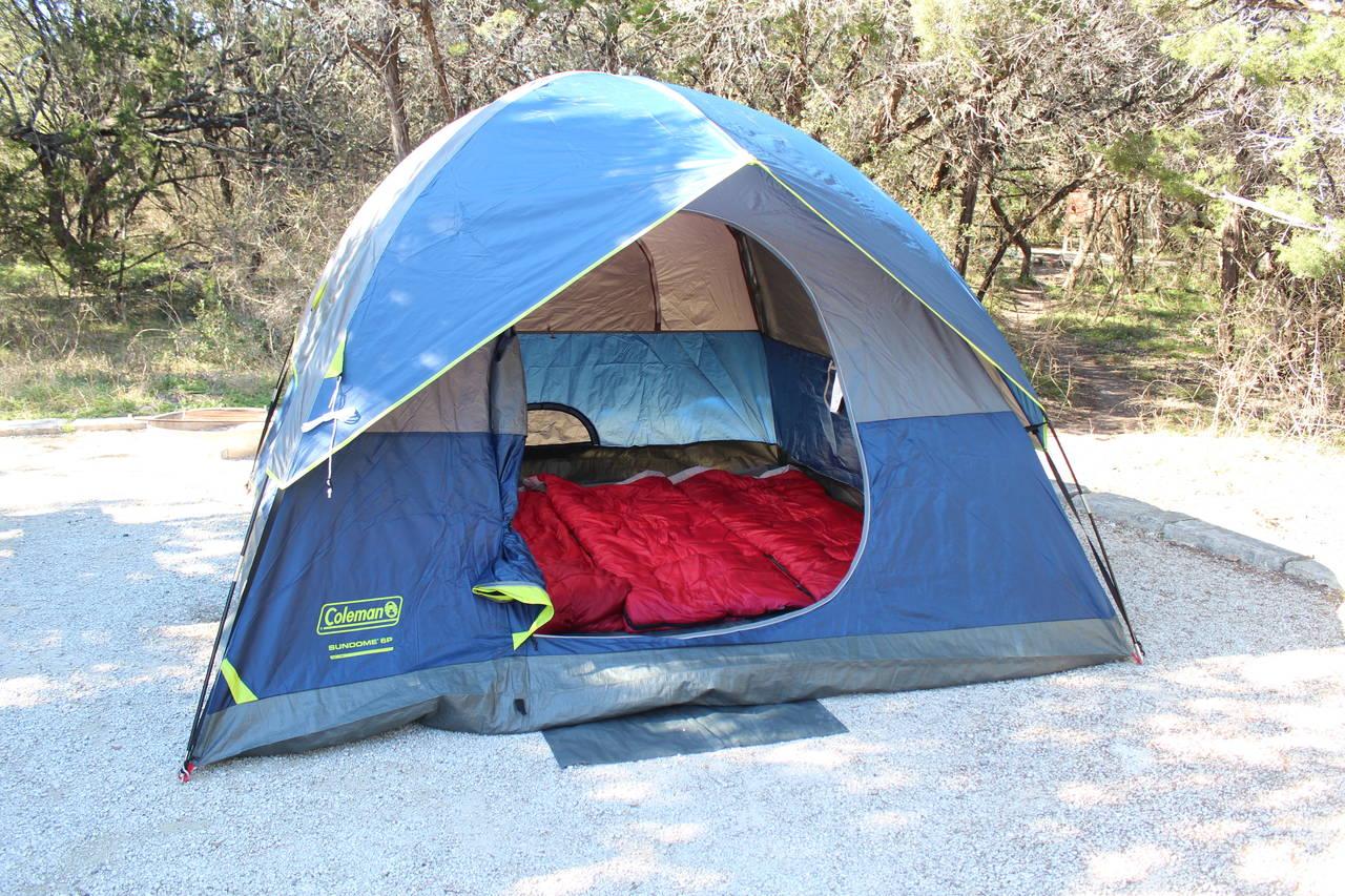 TPO tent setup